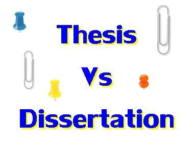 Research and dissertation